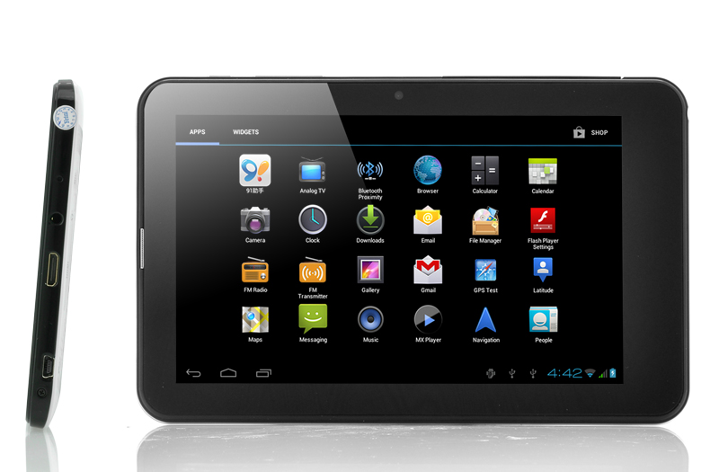 "Android 4.0 GPS Tablet ""Compass"" - 7 Inch, 3G, GPS + Galileo, Dual SIM OA1883"